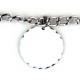 Bracelet 5 pendentifs rond personnalisés