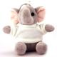 Porte Clef Peluche Elephant personnalisé