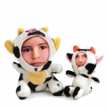 Peluche Vache 3D personnalisée [x]