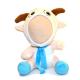 Peluche Chèvre avec écharpe 3D personnalisée
