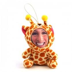 Peluche Girafe 3D personnalisée