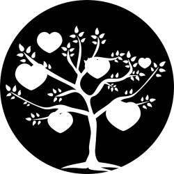 Sticker Arbre Coeur sur mesure