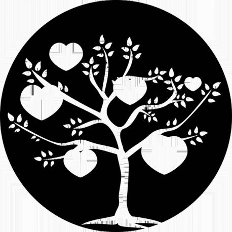 Sticker Arbre Coeur sur mesure [x]