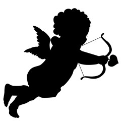 Sticker Cupidon sur mesure [x]