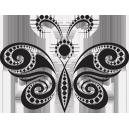 Sticker Papillon sur mesure [x]