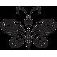Sticker Papillon sur mesure