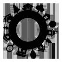 Sticker Maison sur mesure [x]