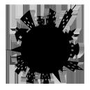 Sticker Planete sur mesure [x]