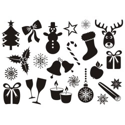 Sticker Noel sur mesure