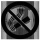 Sticker Interdit de fumer sur mesure [x]