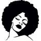 Sticker  Femme sur mesure
