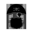 Sticker  Pirate sur mesure [x]
