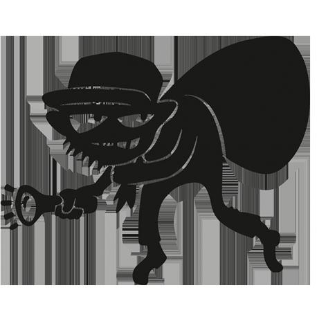 Sticker Voleur sur mesure [x]