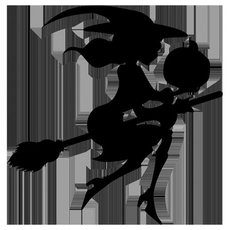Sticker Sorciere sur mesure [x]