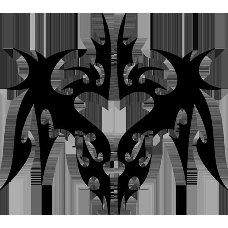 Sticker Coeur tribal sur mesure
