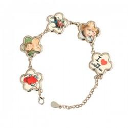 Bracelet Fleur Personnalisé