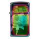 Briquet Zippo Slim Spectrum gravé [x]