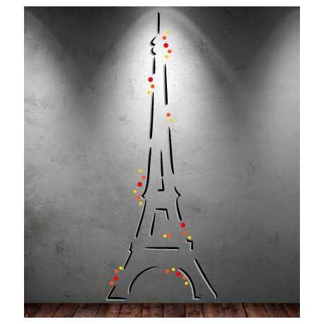 Déco Tour Eiffel à Personnaliser