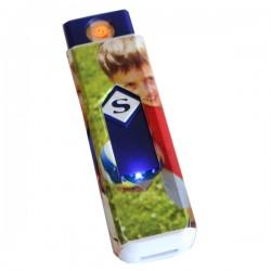 Briquet USB rechargeable personnalisé