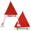 Bonnet de Noël personnalisé [x]