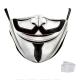 Masque de protection Papel Salavador Dali Adulte Lavable avec 2 filtres PM2.5