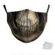 Masque de protection Tête personnalisé Adulte Lavable 2 filtres PM2.5 fournis