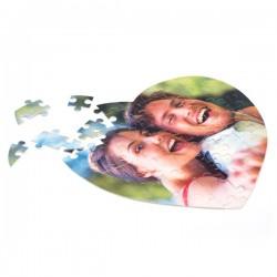 Puzzle Coeur 75 Pièces personnalisé