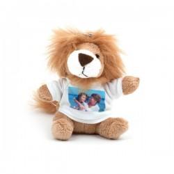 Porte Clef Peluche Lion personnalisé