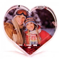 Coeur à Neige personnalisé