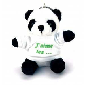 Porte Clef Peluche Panda personnalisé [x]