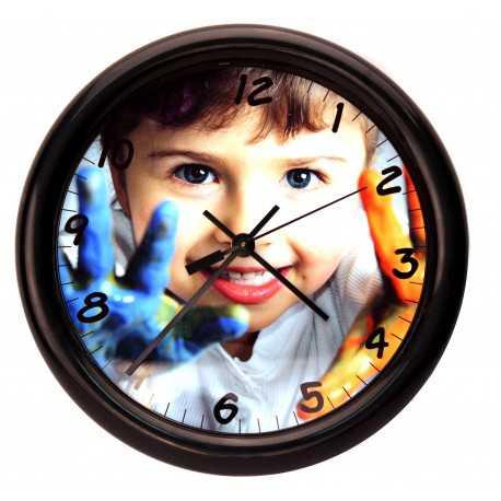 Horloge Mural Ronde personnalisée [x]