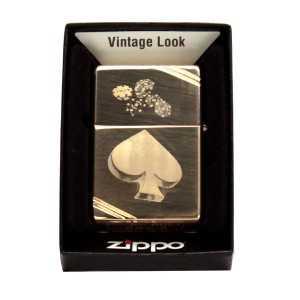 Zippo Vintage Brass personnalisé |x]
