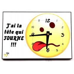 Horloge de Table Rectangulaire personnalisée [x]