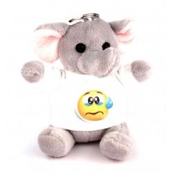 Porte Clef Peluche Elephant personnalisé [x]