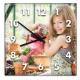 Horloge Carré personnalisée [x]