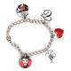 Bracelet 1 à 5 pendentifs rond personnalisés