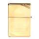 Zippo Vintage Brass personnalisé